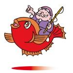 海老で鯛を一本釣り